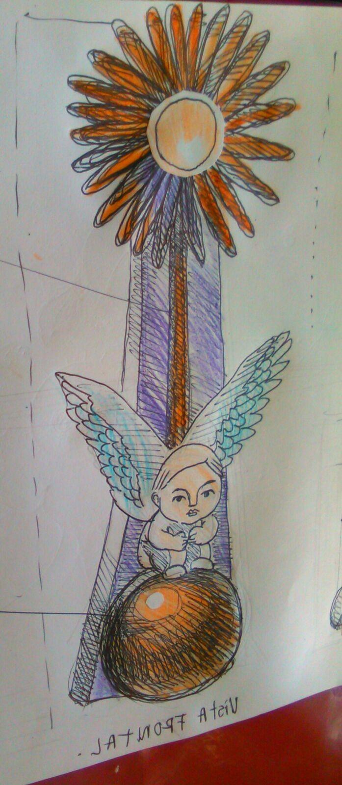 Angel Gira Flor